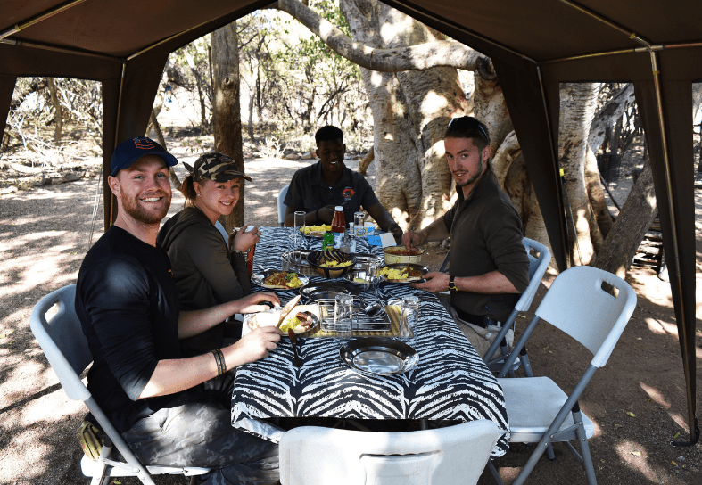 anti-poaching course students in South Africa