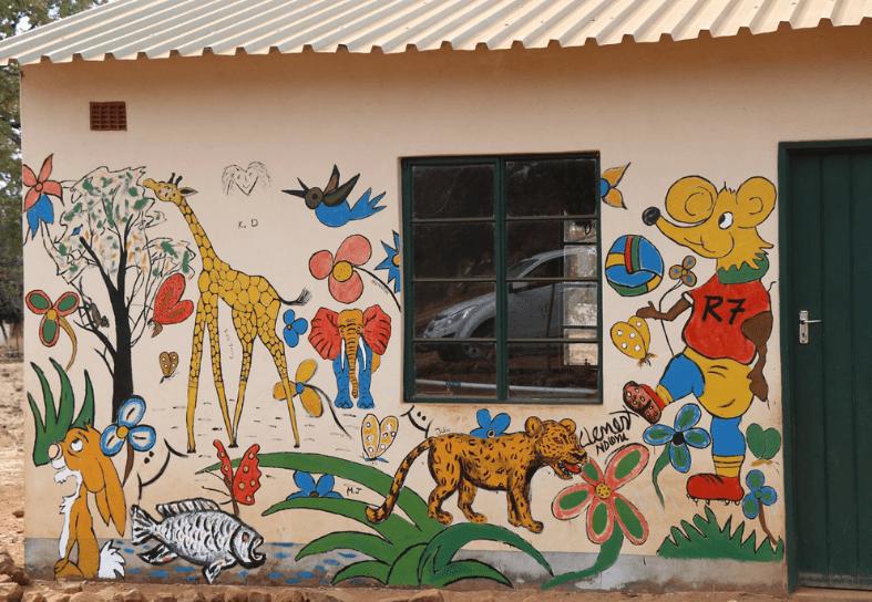 Community primary school in Zimbabwe