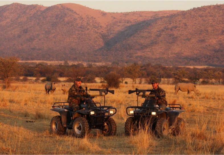 anti-poaching patrol in South Africa