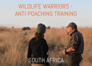 anti-poaching training in South Africa