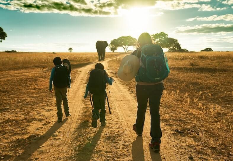 Manasa-family-walking