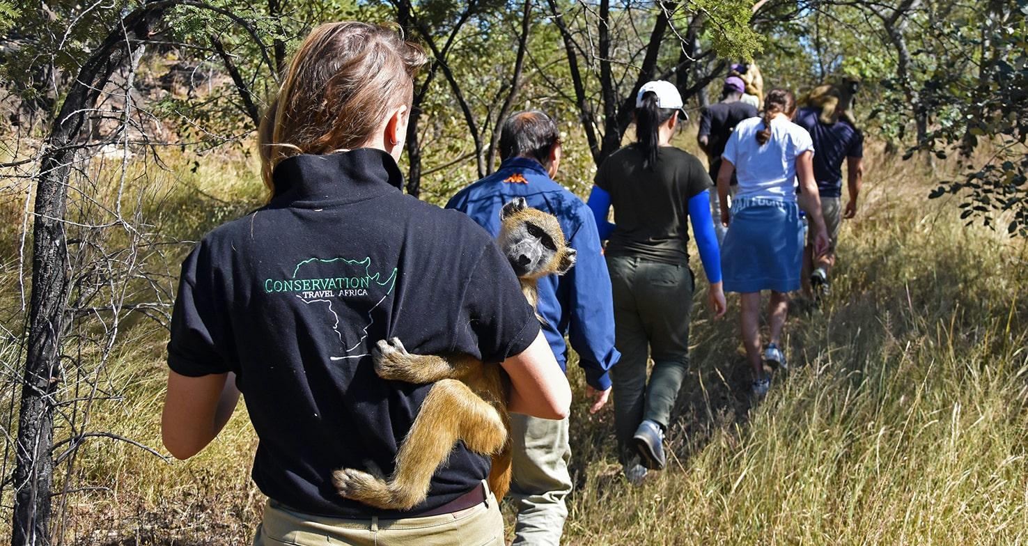 Primate Conservation volunteers
