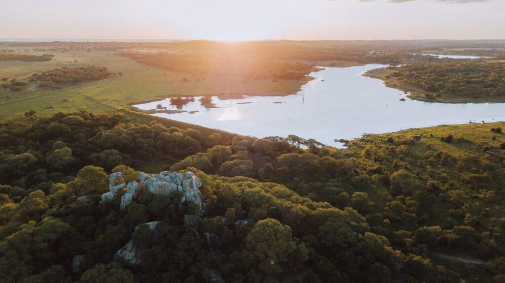 dam in Africa