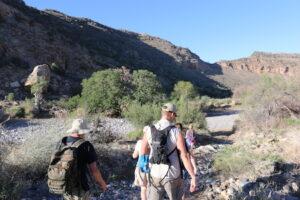 Hiking in the Namib Naukluft